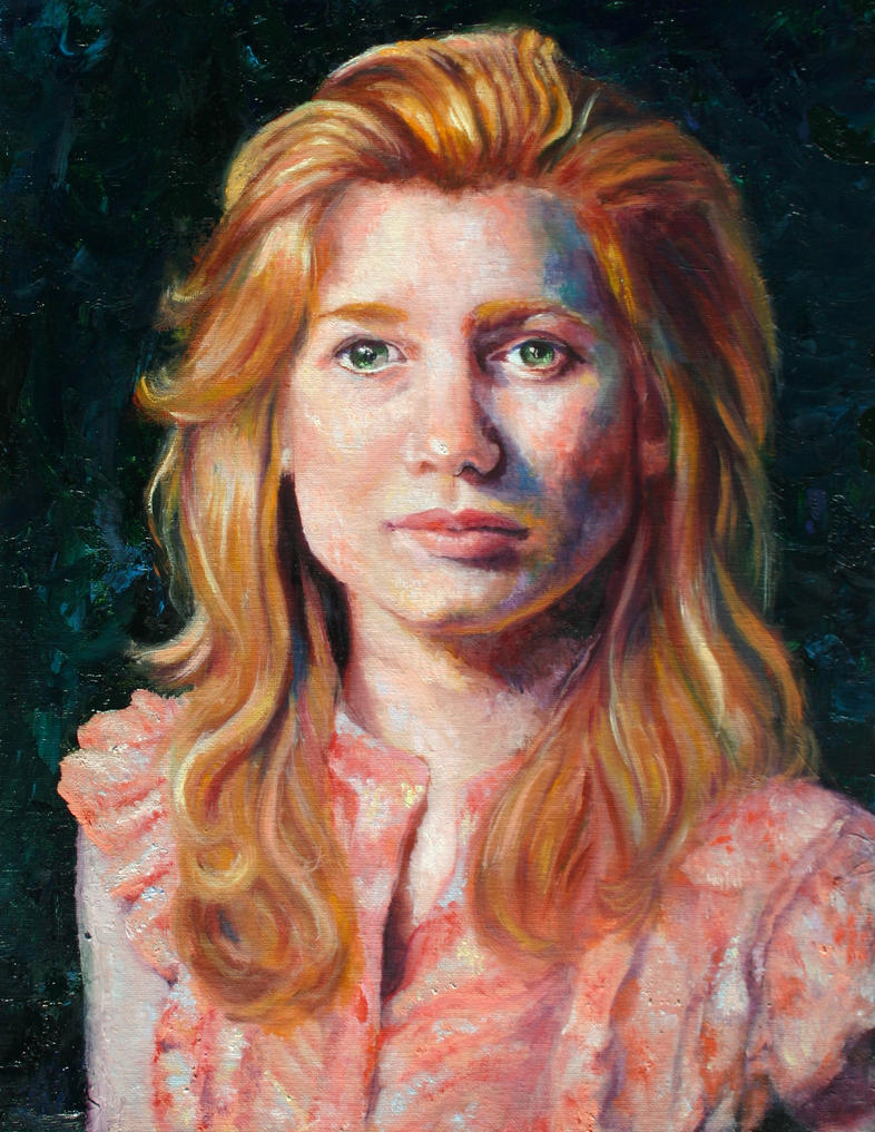 Self Portrait Spring 2013 by Deggs