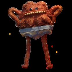 Little Lumpy Space Boy transparent edit