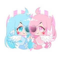My New Picrew Ocs Name Rina and Rana V2