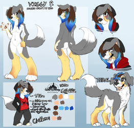 Viggy ref 2014 by RainbowScreen