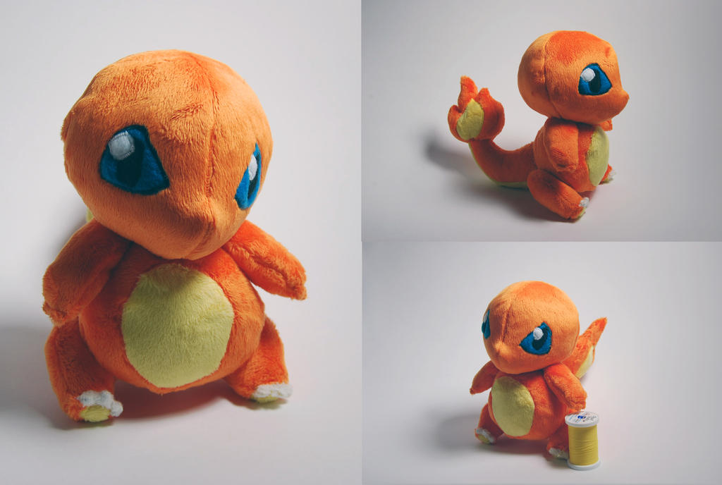 Charmander Plush by SeamsLegit