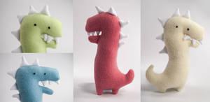 Derpy Dinos by SeamsLegit