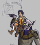 Zeb and Ezra (sketch)