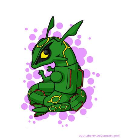 Chibi Pokemon Rayquaza Images | Pokemon Images