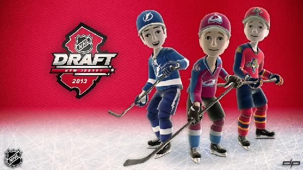 NHL Draft 2013 avatars by disruptivepublishers
