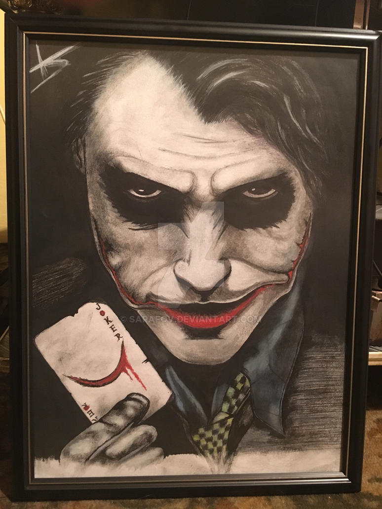 The Joker by SARAFOV