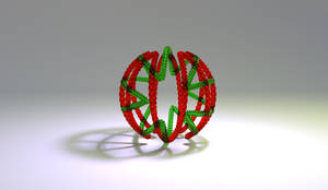 Glass String Ball by llewelld