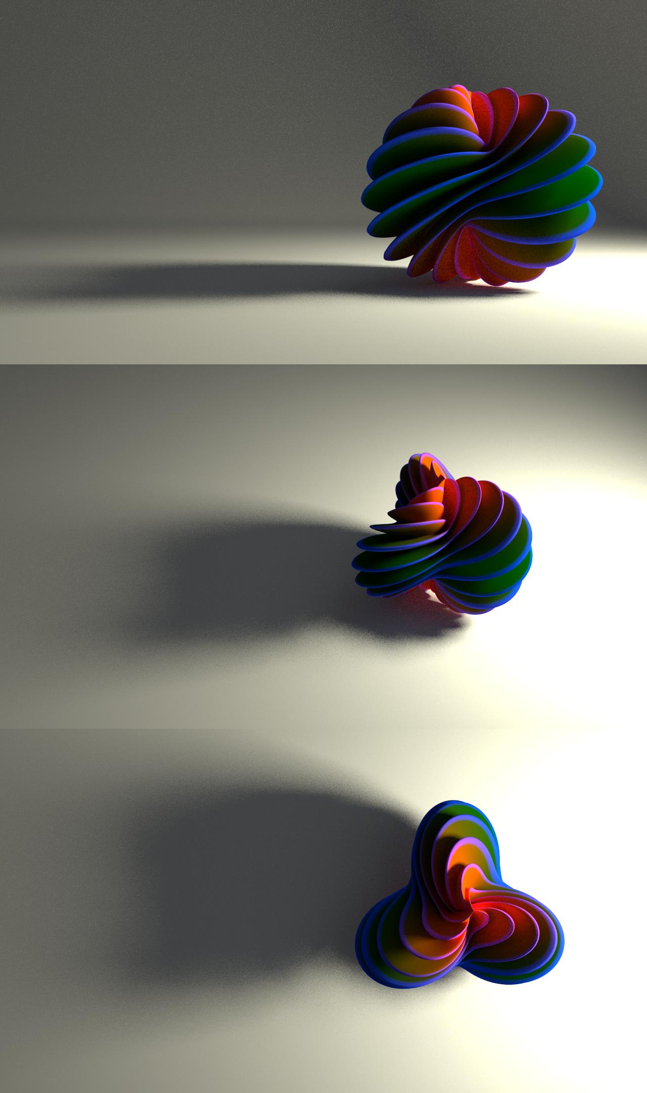 Spiral Fan by llewelld