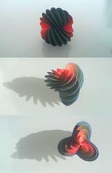 Spiral Fan 3D print by llewelld
