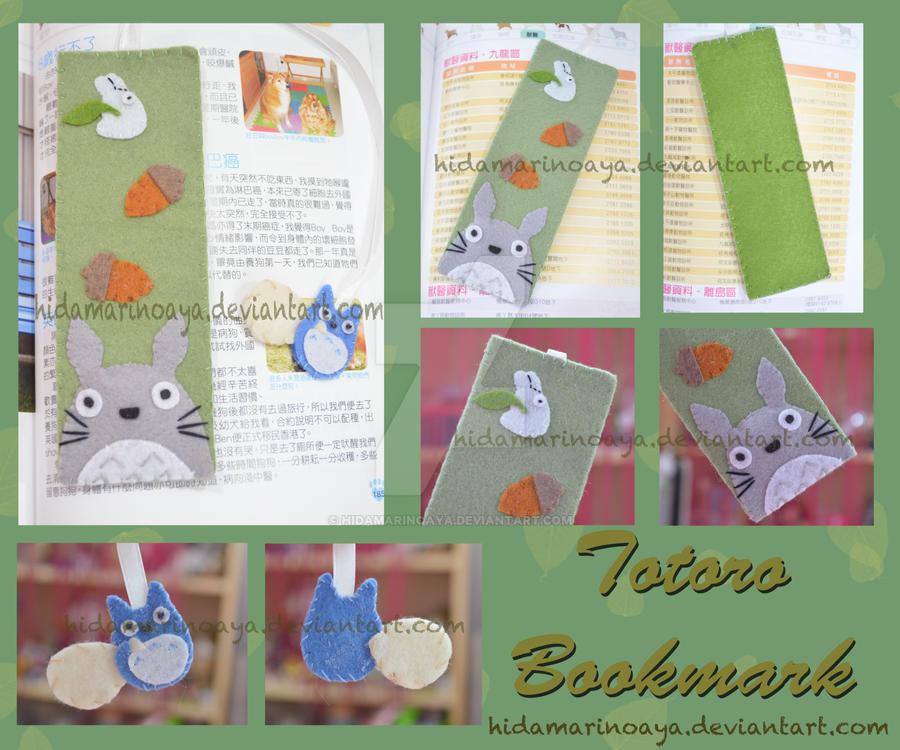 Totoro Bookmark by HidamariNoAya
