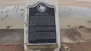 Galveston Texas Memorial Landmark Sign