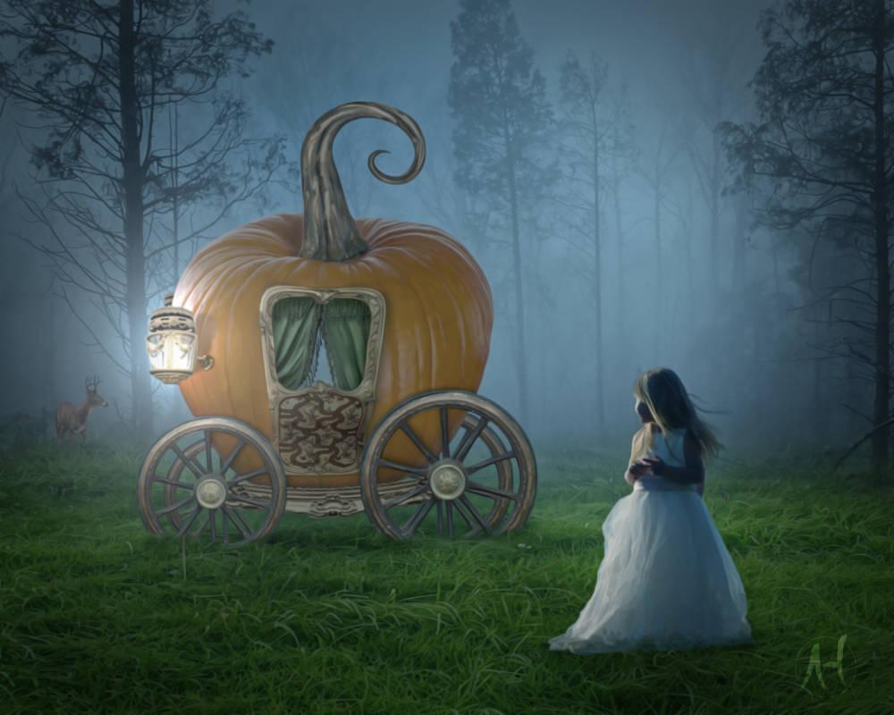 Cinderella's Pumpkin Carriage