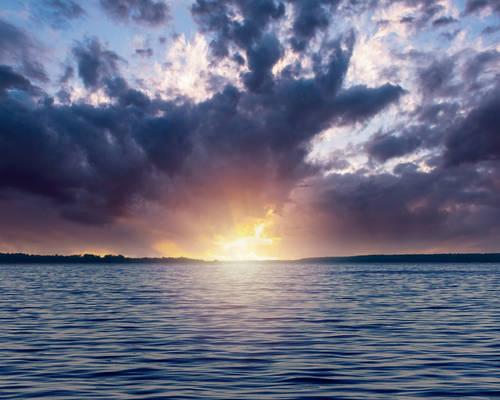 Premade Background: Lake