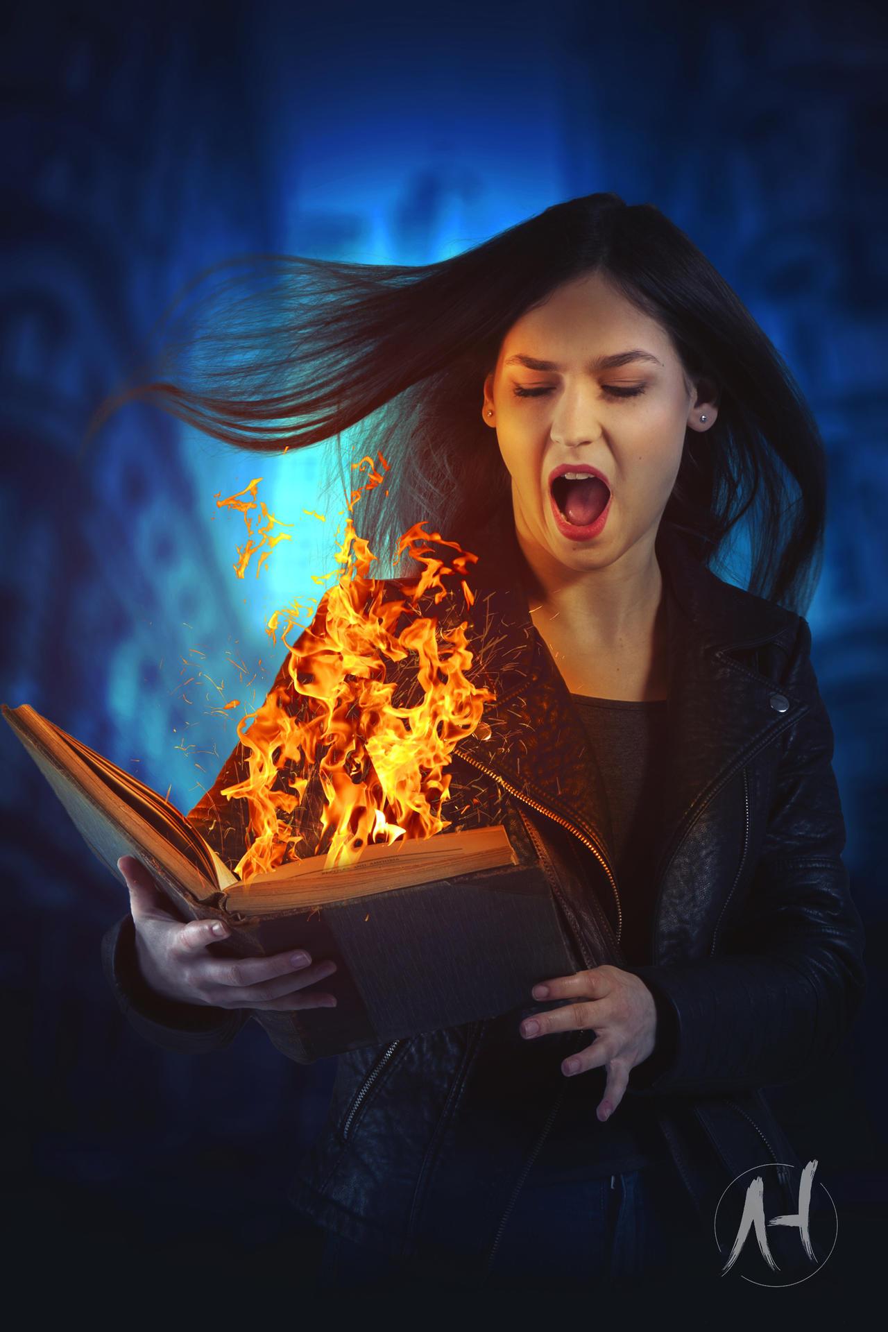 Magical Burning Book