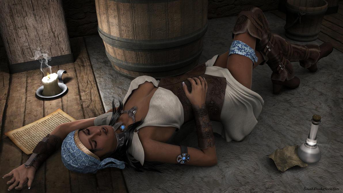 Isabela Sleeping 02 by masterpogo