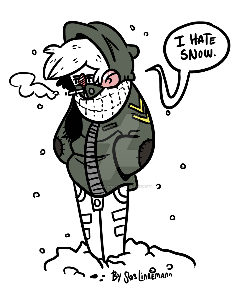 Ann - The snow hater by LittleLinnemann