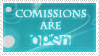 comission stamp. by Jaycynth