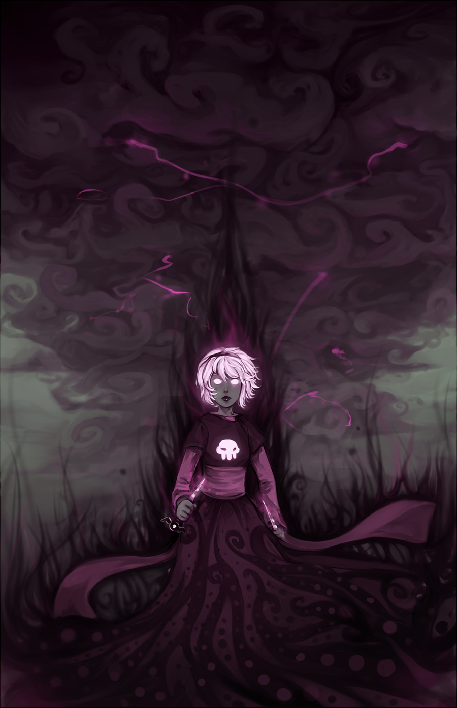 Grimdark Rose by hangotango