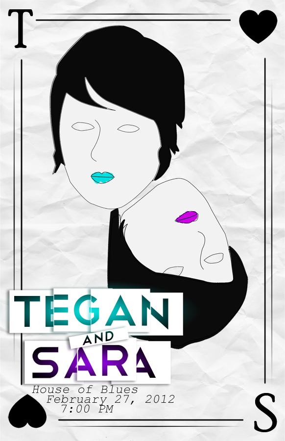 Tegan and Sara by hrtlsangel