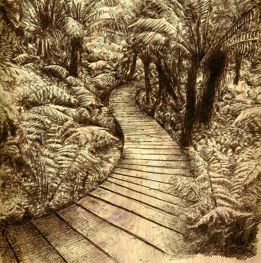 Hidden Pictures Hidden path by illogan