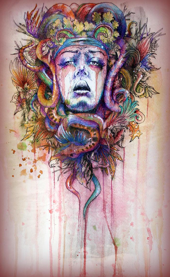 Medusa's Demise by illogan