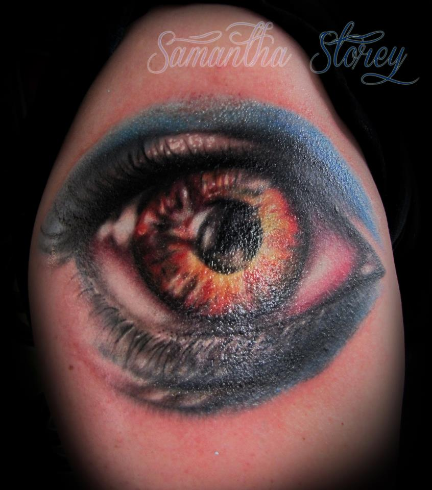 Monster eye tattoo by illogan on deviantart for Eyeball tattoo pics