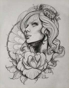 Tattoo Design Sketch 1