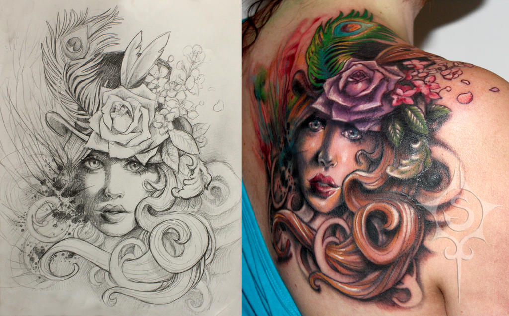 Adventorous collection of cover up tattoos for Cover up tattoos for women