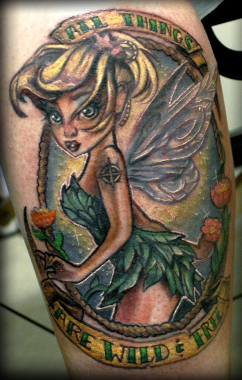 Tinkerbell Tattoo By Illogan On DeviantArt