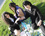 Afterschool picnic by Cospoison