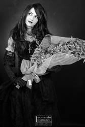 Death of the Endless cosplay - Dried flowers