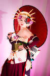 Sakizou cosplay - Japanese Umbrella