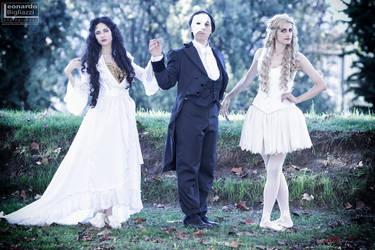 Phantom of the Opera cosplay group