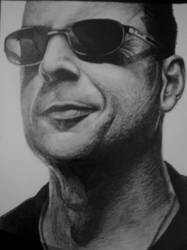 Bruce Willis by almorti123