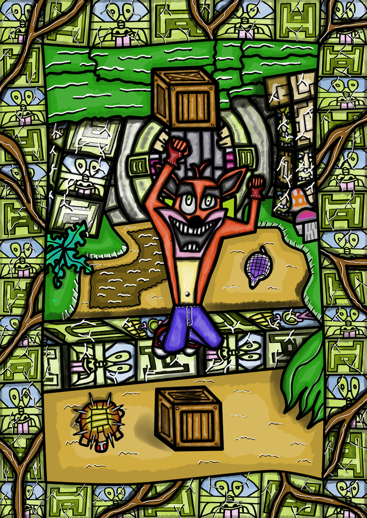 Crash Bandicoot 2 - Turtle Woods by rittie145