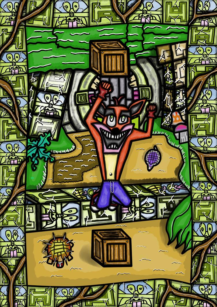 Crash Bandicoot 2 - Turtle Woods by rittie145