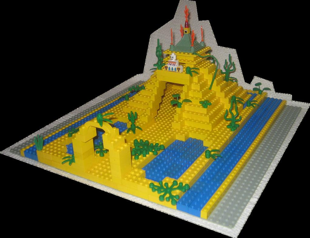LEGO Pyramid by rittie145