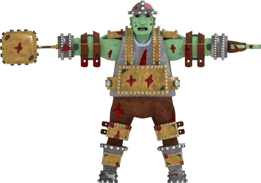 Hammer Troll 3D Model by rittie145