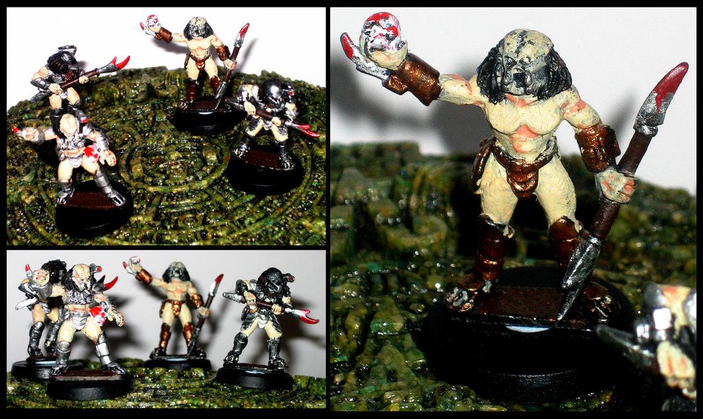 Predator Miniatures by rittie145