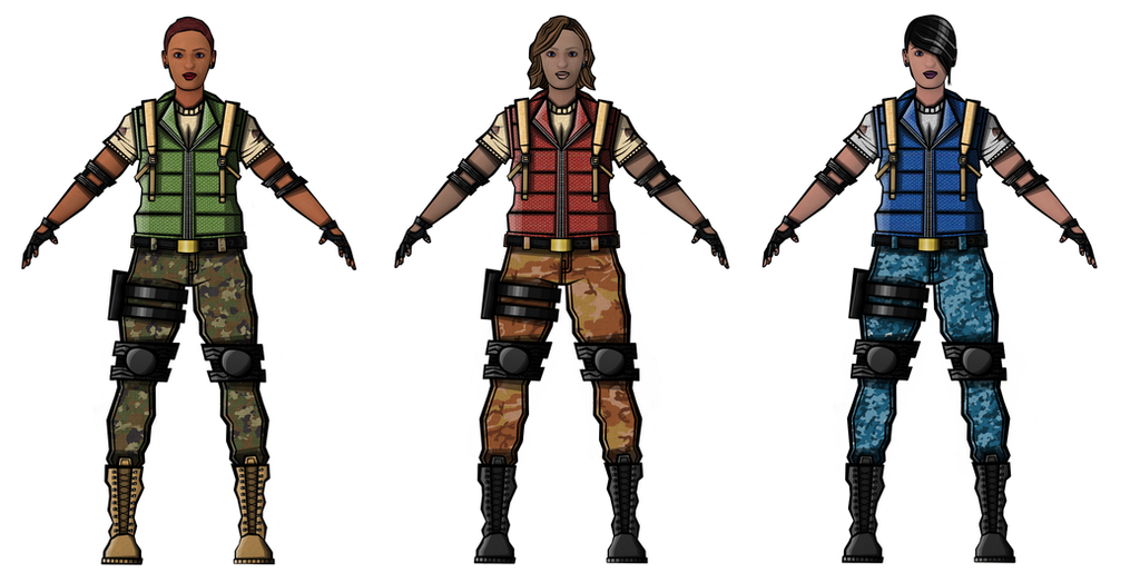 Female Military Hero Concepts #6 by rittie145