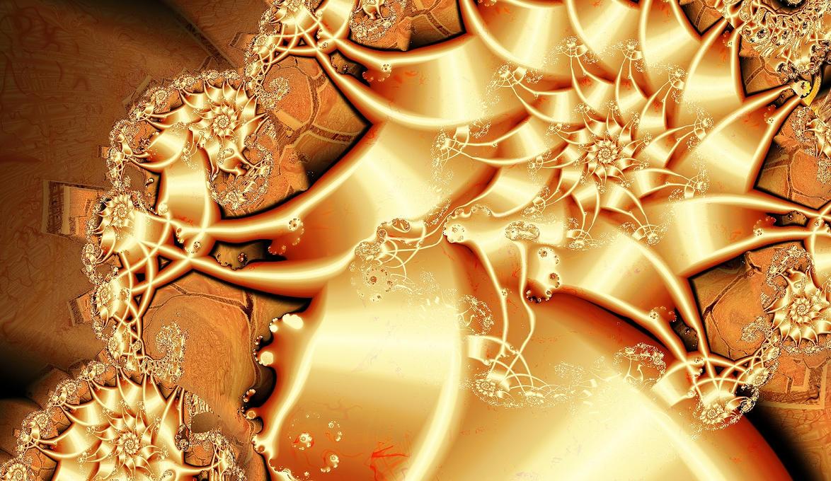 Drop in a Golden Bucket by miincdesign