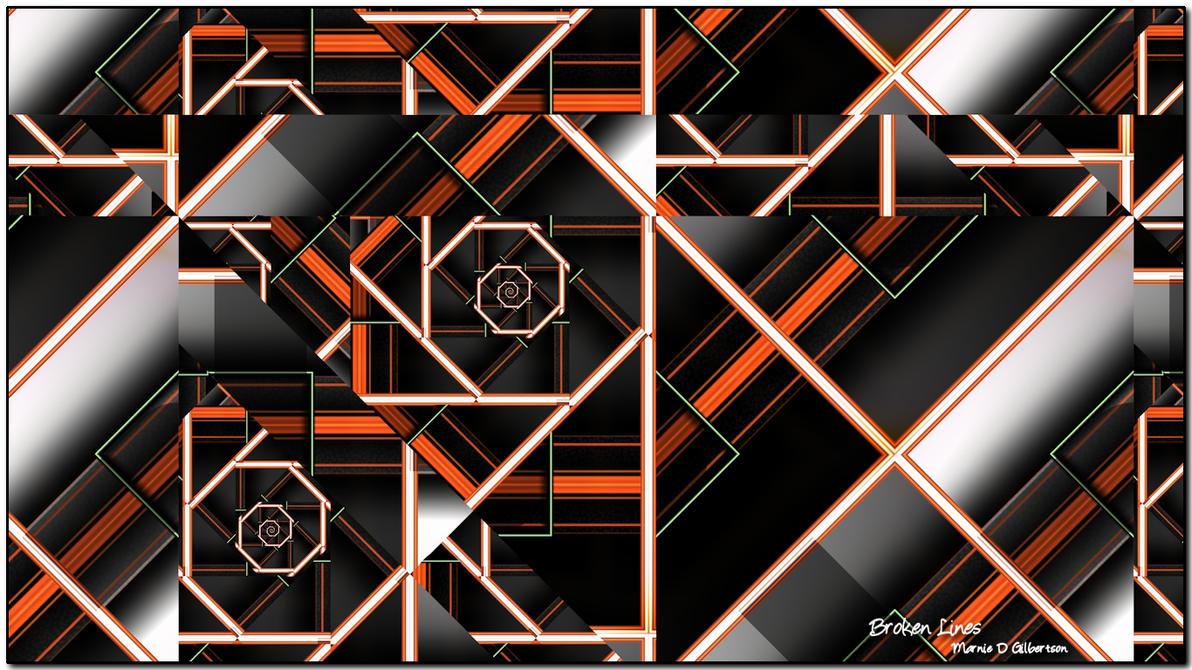 Broken Lines by miincdesign