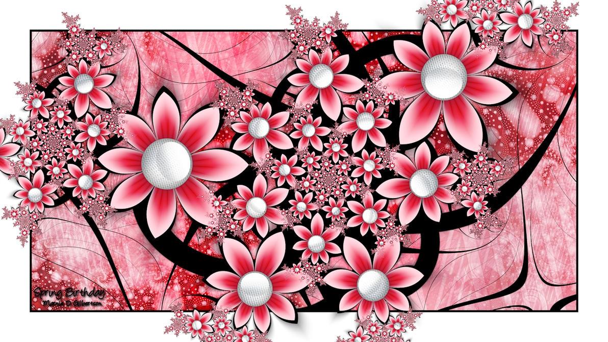 Spring Birthday by miincdesign