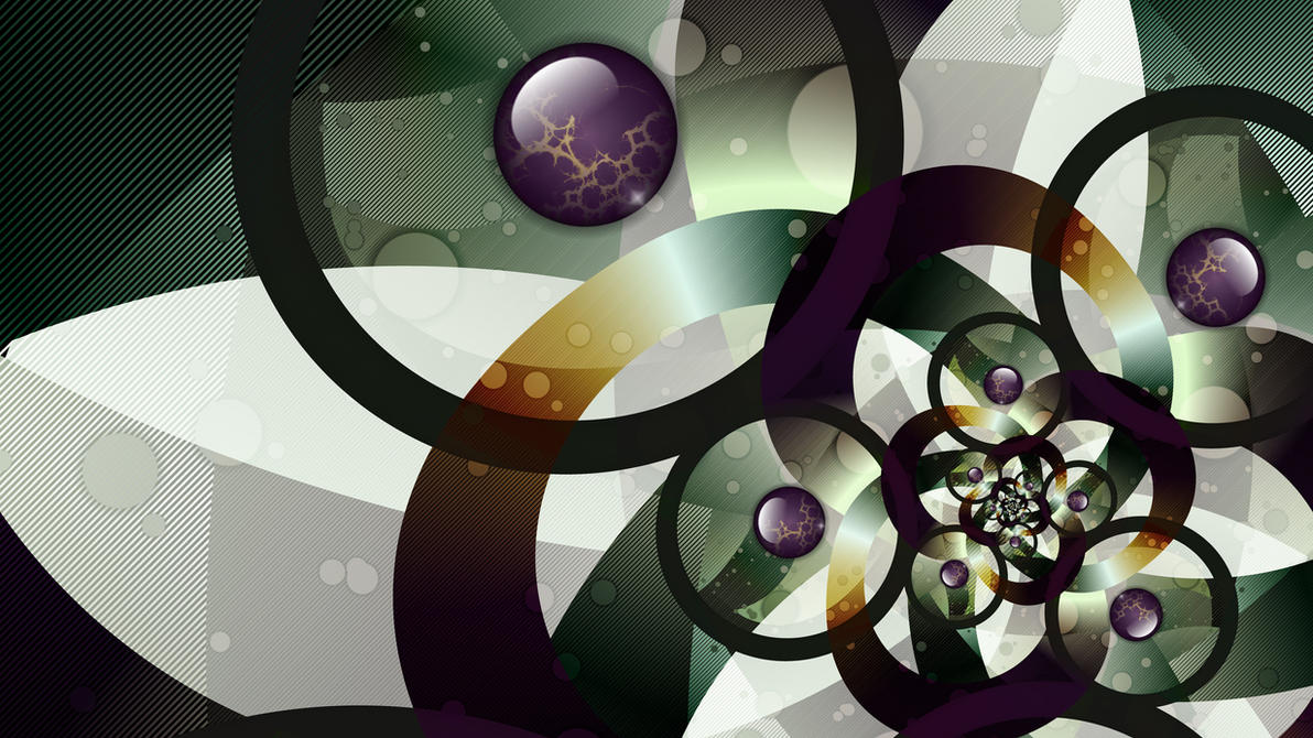 Spheres and Spirals by miincdesign
