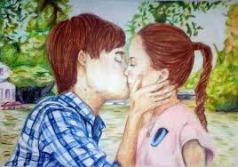 Dibujo de Jorge Blanco y a Tini Stoessel by EugeeTinistaForever