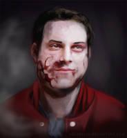 zombie dave by aquarelka