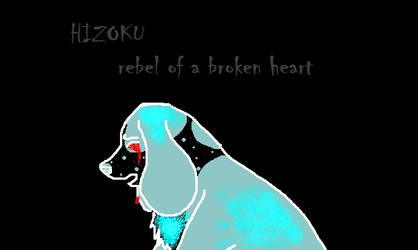 Rebel of a broken heart INVERT