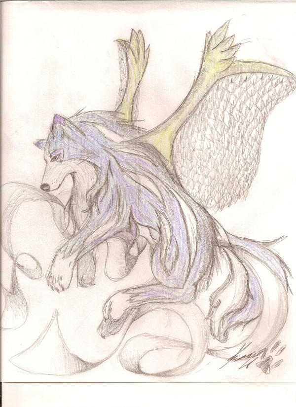 Suicune-remake-with wings by Super-Sonic-101 on deviantART