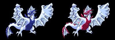 Lugia Mega Evolution Mega Lugia Sprites by