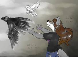 Let Free your Ravens by FayeleneFyre